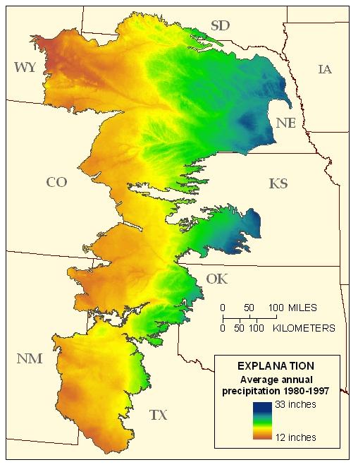 USGS High Plains Aquifer WLMS: Physical/Cultural Setting